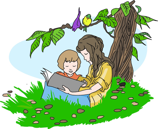 clipart child reading - photo #39