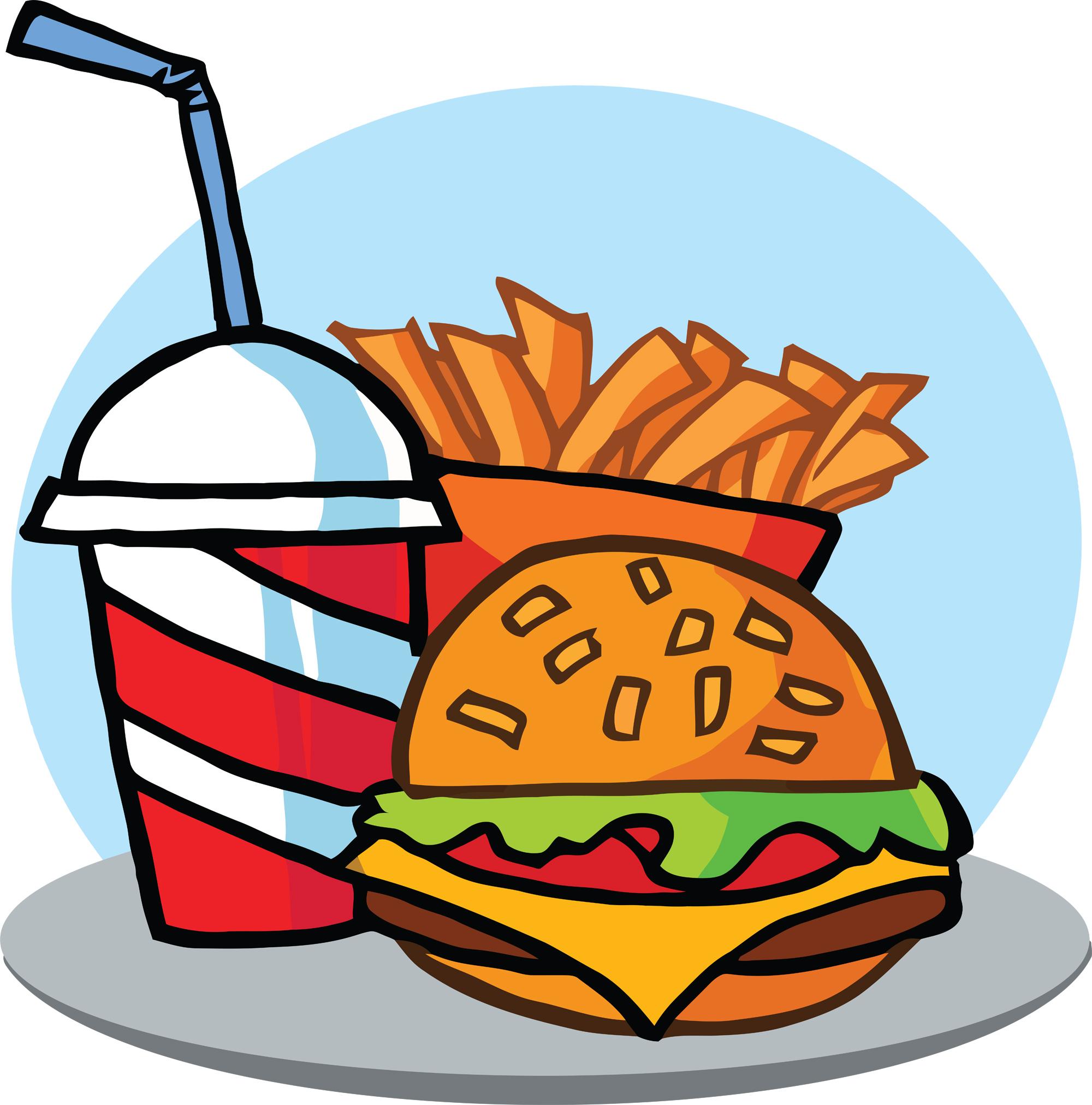 1782fastfoodhamburgerdrinkandfrenchfries