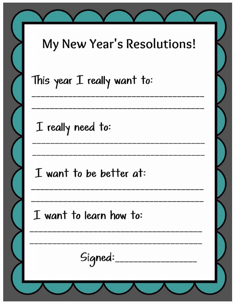 Healthy New Year's Resolutions for Kids |