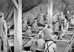 breaker boys working in coal mine