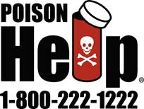 Poisoning Prevention Tips for Parents illustration of poison warning