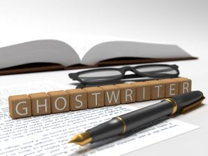Image of Ghostwriter, I am a ghostwriter
