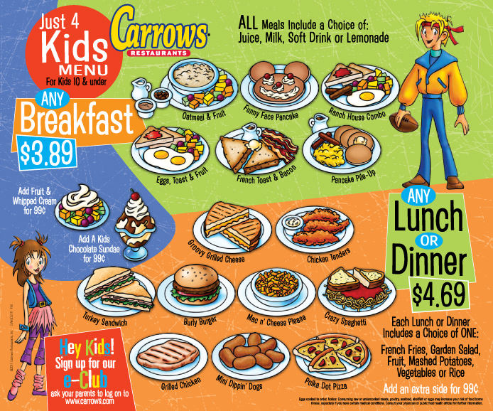 Can do street chefs club with restaurant recommendations for Kid friendly restaurants