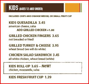 "Zoes Kitchen Menu zoe's kitchen mobile, al added to ""rated kid friendly"" restaurant"