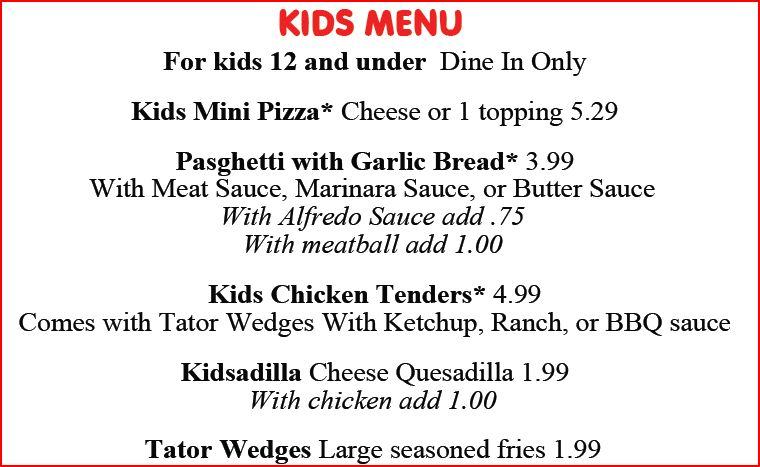 Lamppost Pizza ? Reno, NV. KIDS, 12 and under EAT FREE ? Thursdays from 5PM ...