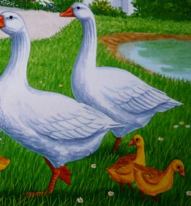 mommy ducks