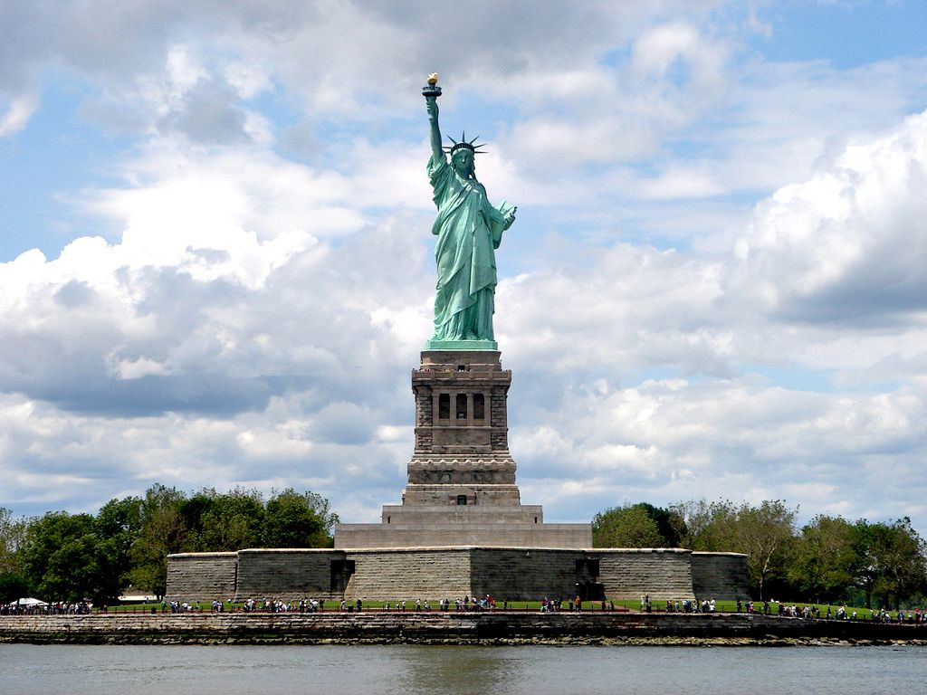 "Of you tell me who gave us the statue of liberty "" asked grandma"