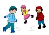 picture of children ice skating