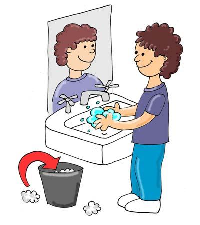 Flush Toilet Clipart For Kids Bathroom