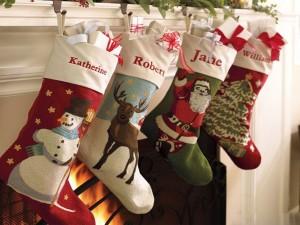 image of Christmas stockings