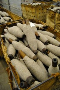 image of thread bobbins