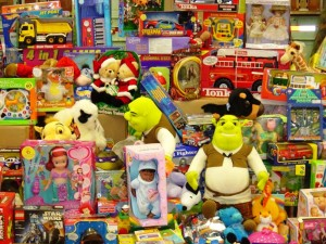 image of assorted toys