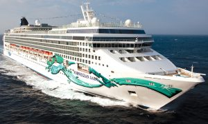 cruising on the Norwegian Jade