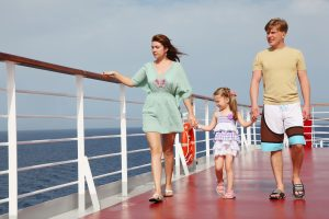 image of young family enjoying what cruises have to offer