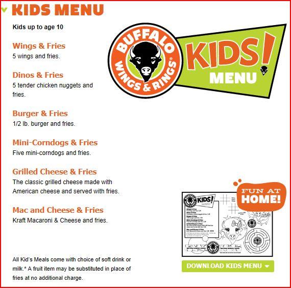Kid Eat Free Restaurants In Buffalo Ny